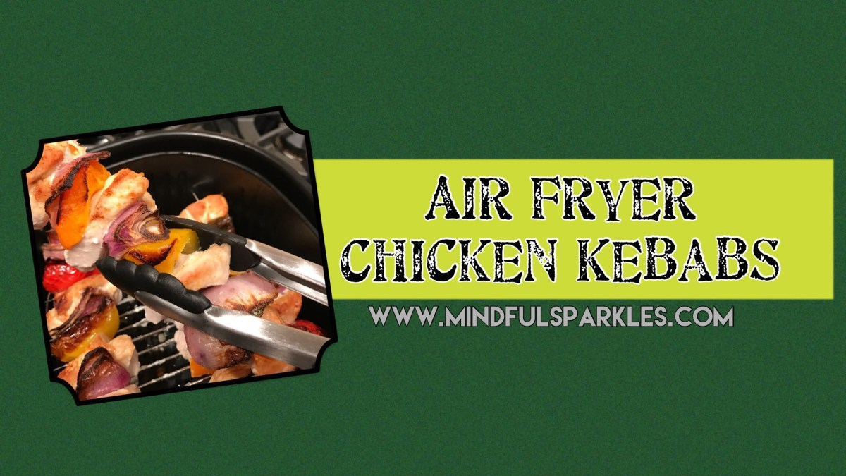 Air Fryer Chicken Kebabs 🍡 in 20 Minutes or Less!